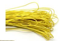 80 Metres of Yellow Waxed Cord 1mm